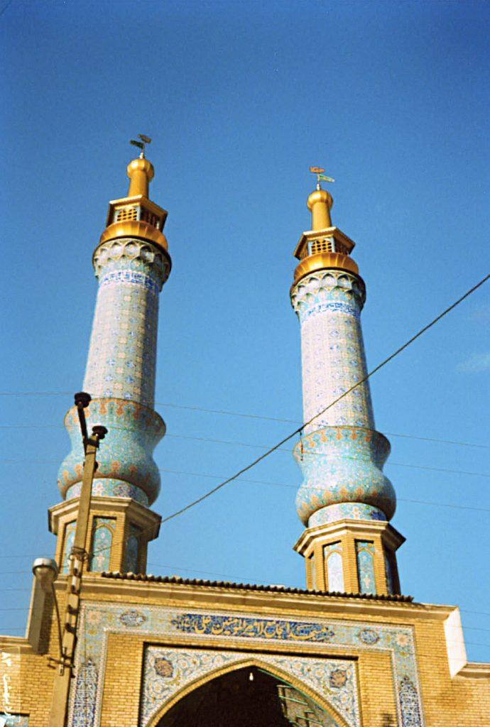 گلدسته مسجد امیرالمومنین