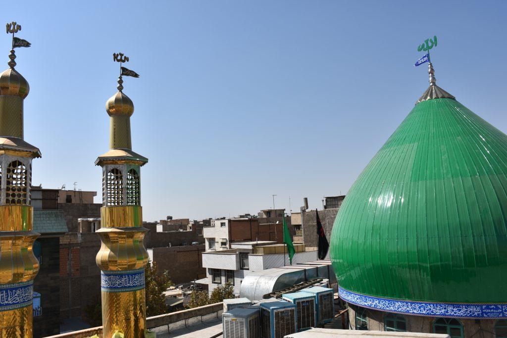 گنبد سازی طرح مسجدالنبی در عبدل آباد تهران